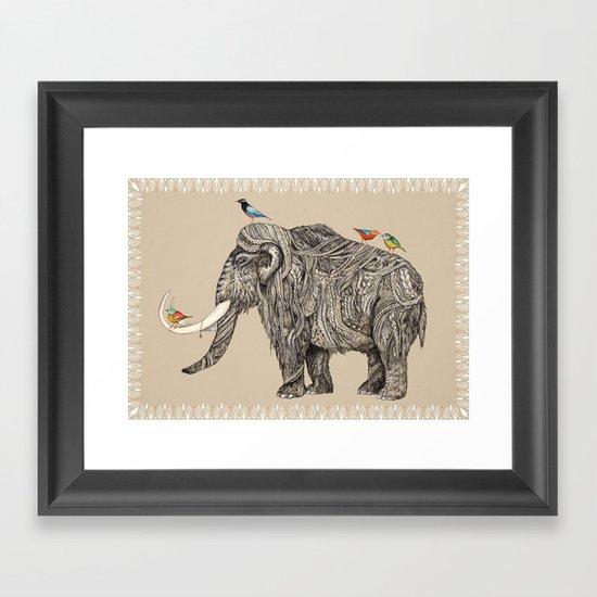 TUSK Framed Art Print
