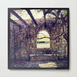 BEYOND THE WINDOW Metal Print