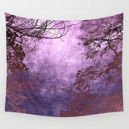 Purple Landscape Wall Tapestry