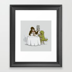 Crunchy Meal Framed Art Print