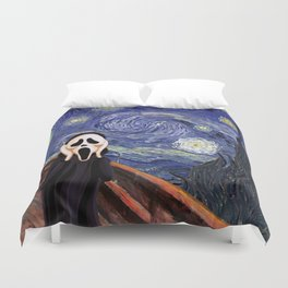 Scream Scary movie Duvet Cover