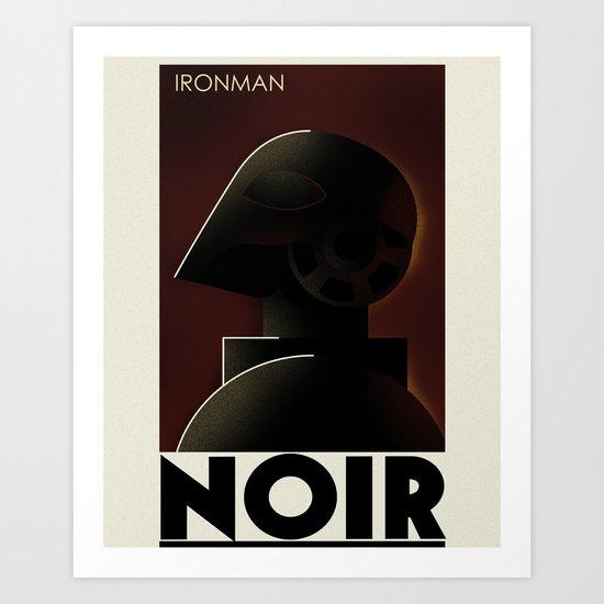CASSANDRE SPIRIT - Iron Noir Art Print