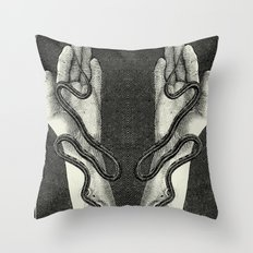 Parasite Throw Pillow