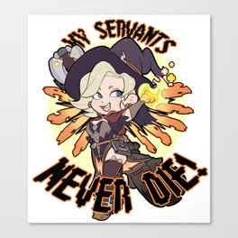 Witch Mercy Canvas Print
