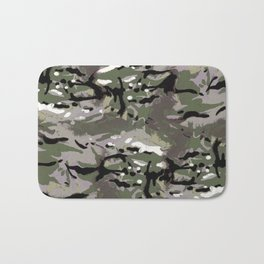 Camo Camo, and the art of disappearing. Bath Mat