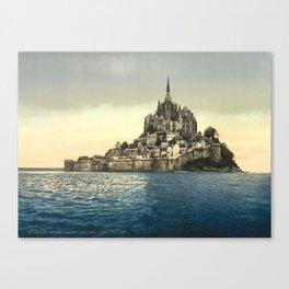 Mont Saint-Michel - Normandy, France Canvas Print