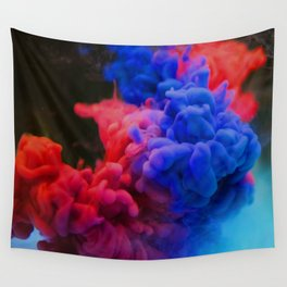 Colorful Smoke Screen Wall Tapestry