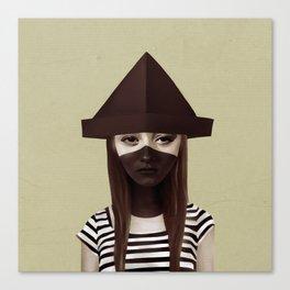 Ceci n'est pas un chapeau Canvas Print