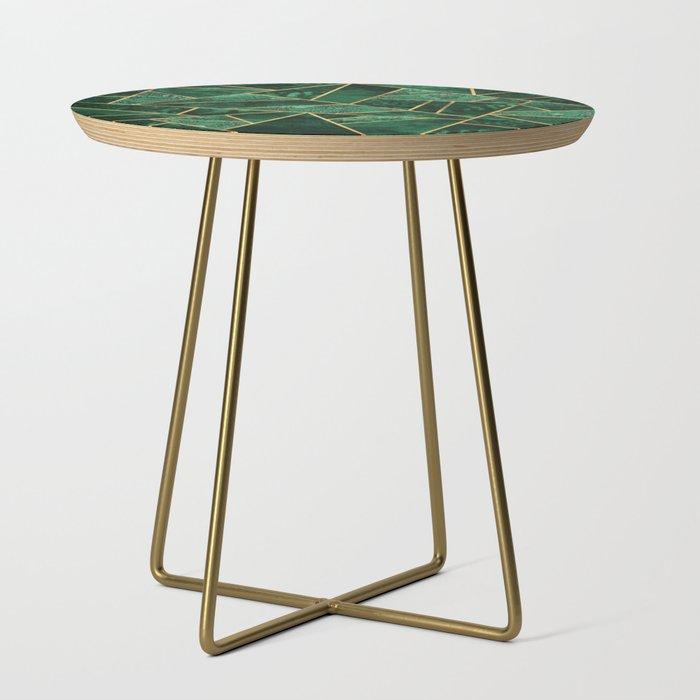 Deep Emerald Side Table