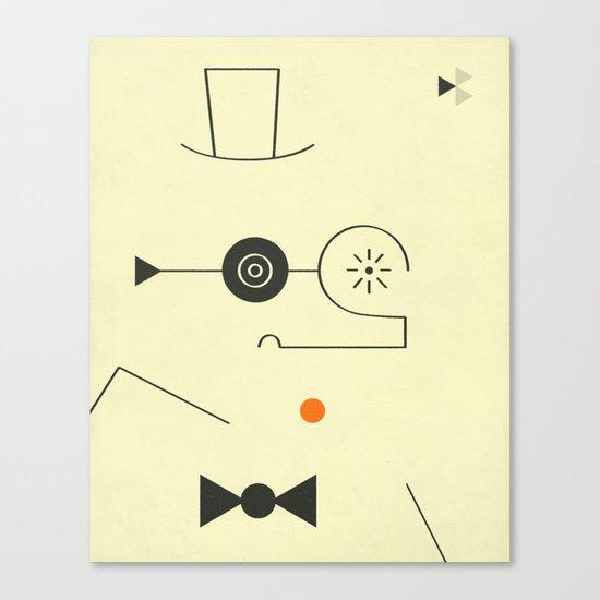 Busy Body (2) Canvas Print