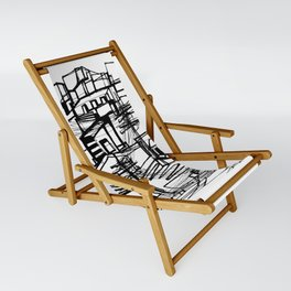 Urban City Collage Sling Chair