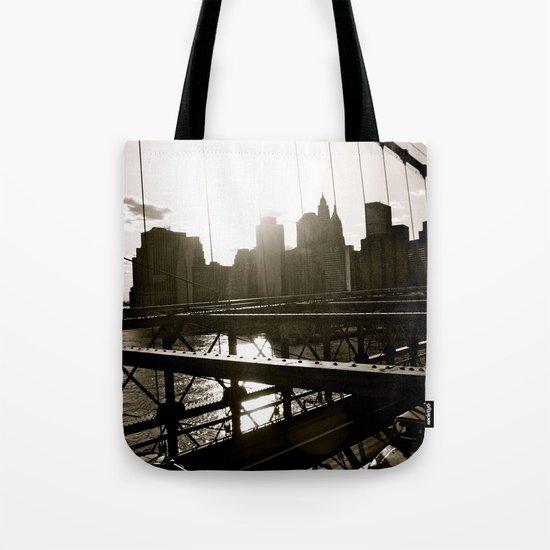 WHITEOUT : Take Me There Tote Bag