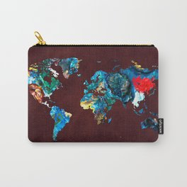 World Map 7 Carry-All Pouch
