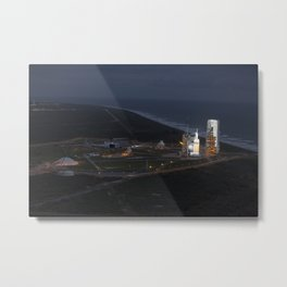 1375. Orion Launch from Helicopter - Aerials Metal Print