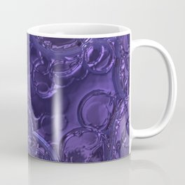Purple metal rain drops Coffee Mug