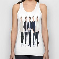 one direction Tank Tops featuring One Direction by kikabarros