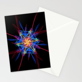 Silkweave / Neon Sigil 2 Stationery Cards