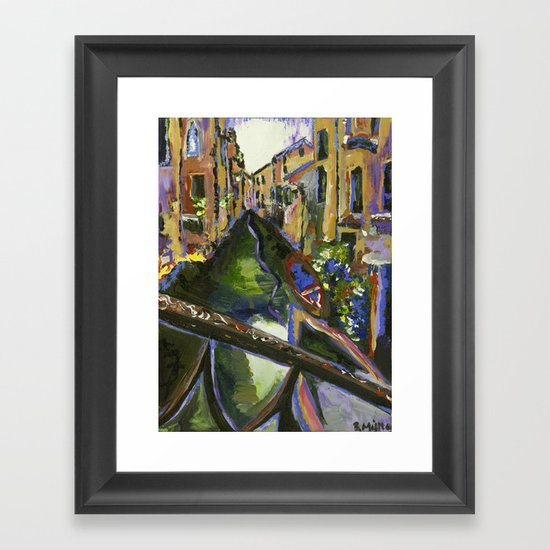 Venetian Framed Art Print