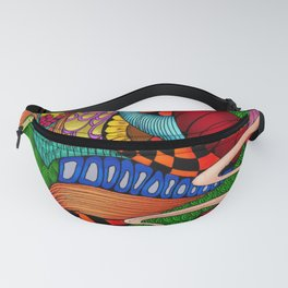 Colorful Girl Fanny Pack