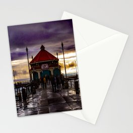 Ruby's End (Surf City) Stationery Cards