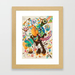 My favorite Monsters And Birds Part 1 Framed Art Print