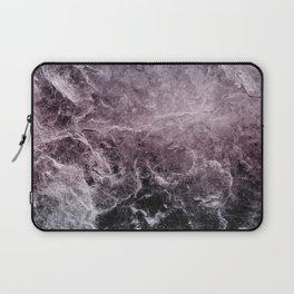 Enigmatic Dark Night Marble #1 #decor #art #society6 Laptop Sleeve