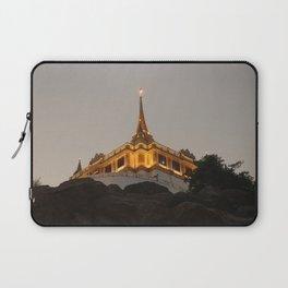 Wat Saket - Bangkok's Golden Mount Laptop Sleeve