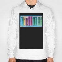 library Hoodies featuring Library Wisdom by Jean Ladzinski
