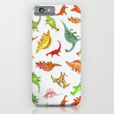 Dinosaur Party Pattern Slim Case iPhone 6s