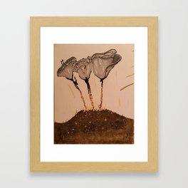Human Being Origin Framed Art Print
