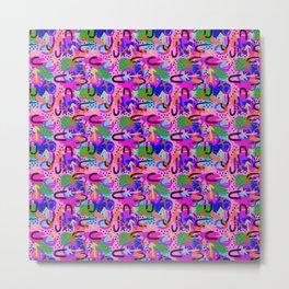 Coral craziness Metal Print