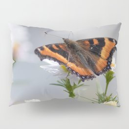 Butterfly By The Channel Pillow Sham
