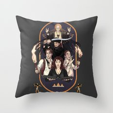 No harm ever came from reading a book Throw Pillow