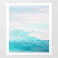 anchor Art Prints featuring Anchor by 83 Oranges™