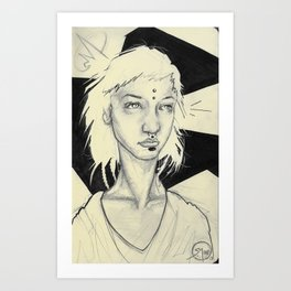 015 Chunni Art Print