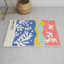 Matisse Collages Art Rug