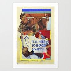 TWERK Art Print