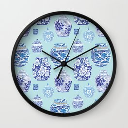 Chinoiserie Ginger Jar Collection No.3 Wall Clock