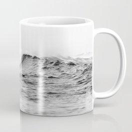Black and White Surfer Print Coffee Mug