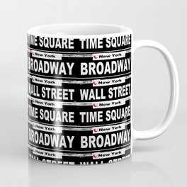 Street Sign Scenes of New York Coffee Mug