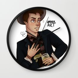Herman Tømmeraas Wall Clock