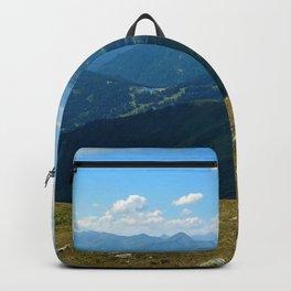 panorama on adventure park hög alps serfaus fiss ladis tyrol austria europe Backpack