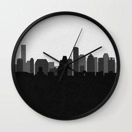 City Skylines: Houston (Alternative) Wall Clock