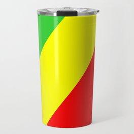 congo country flag Travel Mug