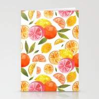 oana befort Stationery Cards featuring CITRUS by Oana Befort