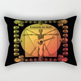 Leonardo Guitar Rectangular Pillow