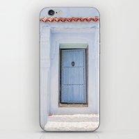 door iPhone & iPod Skins featuring Door by Sandy Broenimann