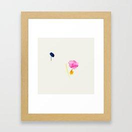 Minimum 2 - minimal artwork by Jen Sievers Framed Art Print