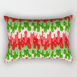 Christmas Slime Rectangular Pillow