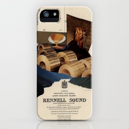 Rennell Sound iPhone Case